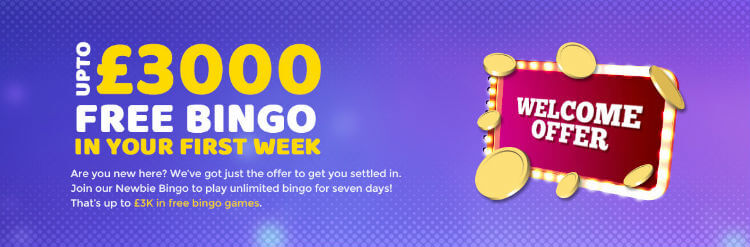 Landmark Bingo offer up to £3K in bingo