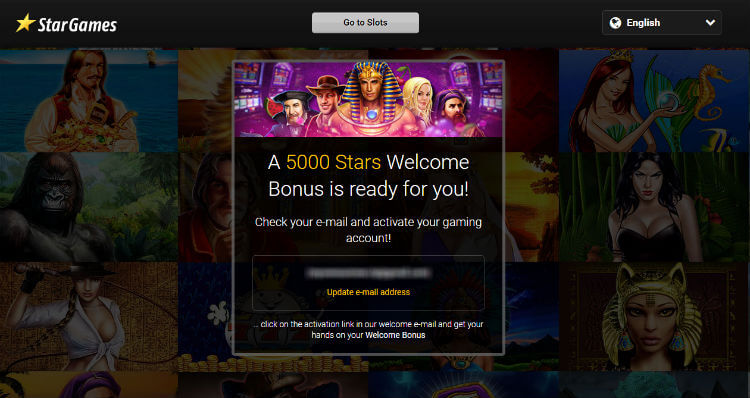 Reach the 5000 Welcome Stars with StarGames