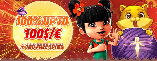 Bob Casino 1st deposit bonus offer
